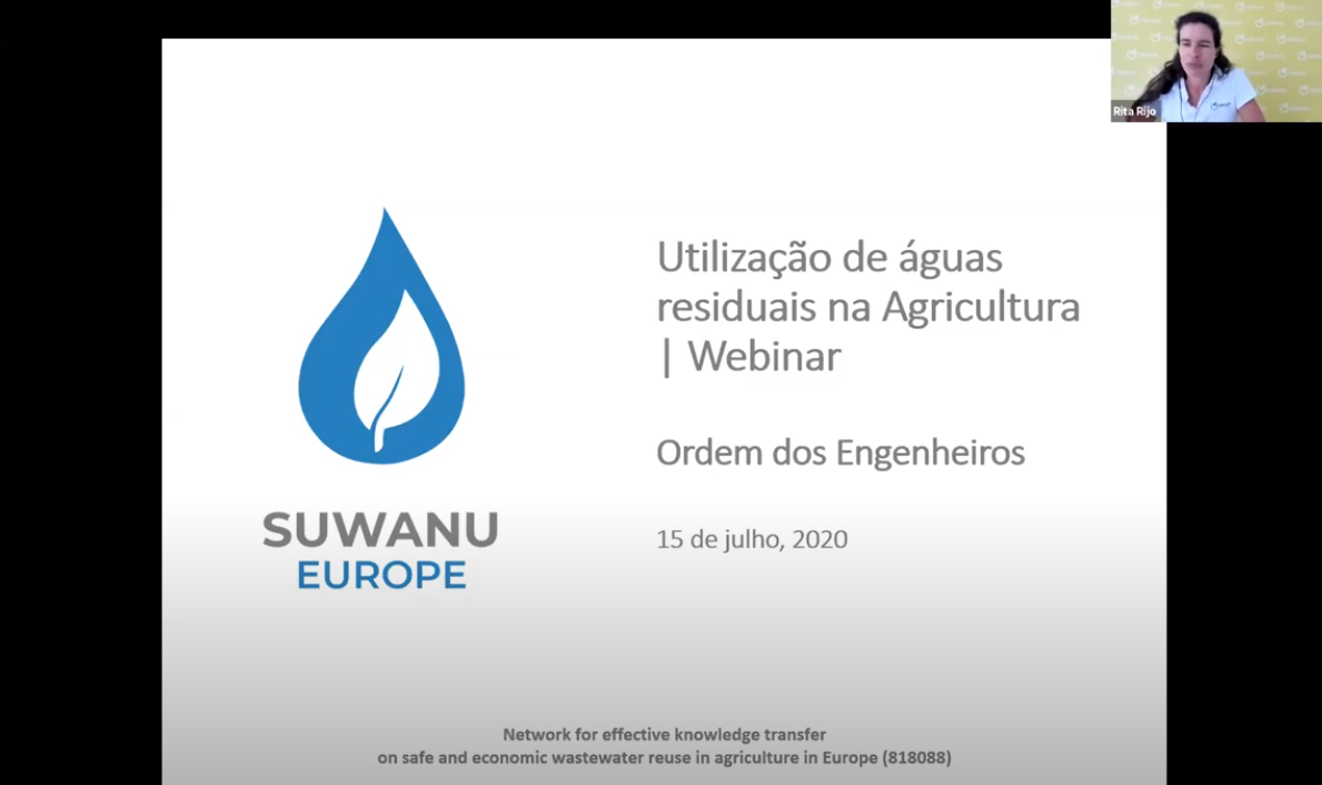 """CONSULAI participated in the webinar on """"Wastewater Use in Agriculture"""""""